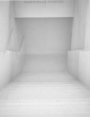 1: L'escalier en béton © Geoffroy Ménabréa