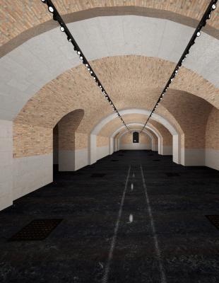 3: Plan de la salle Sud © Sandra Courtine pour CIEL architectes