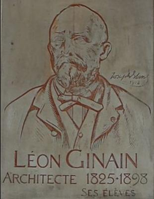 4: View of the effigy of Léon Ginain