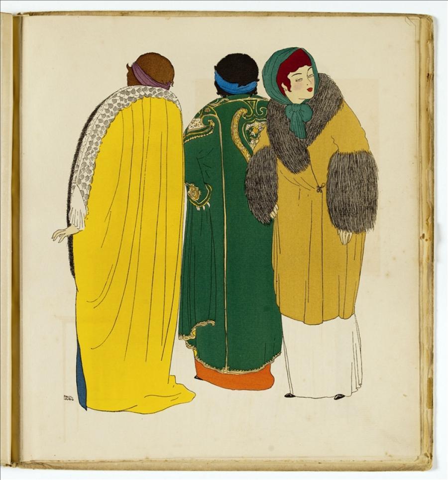 Paul Poiret's Dresses As Seen by Paul Iribe | Palais Galliera | Musée ...