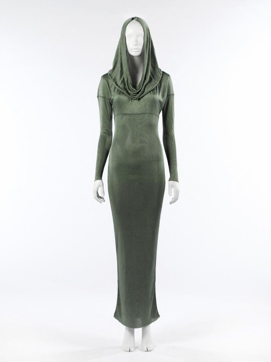 Robe Du Soir A Capuche Alaia Palais Galliera Musee De La Mode De La Ville De Paris