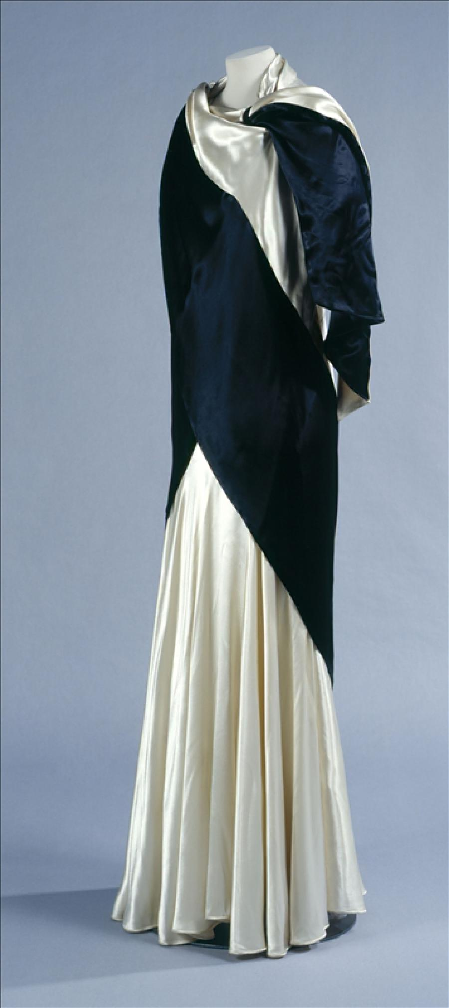 Evening Gown And Stole Callot Soeurs Palais Galliera