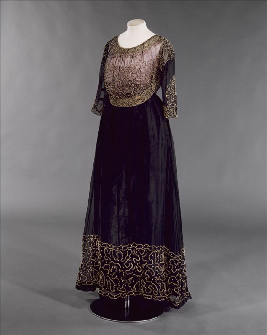 ac4a4ff810a Formal gown, Jeanne Lanvin | Palais Galliera | Musée de la mode de ...