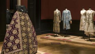 The exhibition 'La Mode retrouvée' © Pierre Antoine