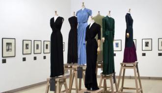 vue de l'exposition Madame Grès, la couture à l'œuvre