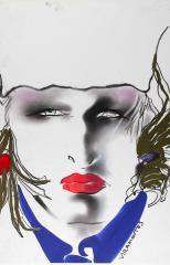 """Violeta Sanchez, 1984"", Tony Viramontes © Tony Viramontes"