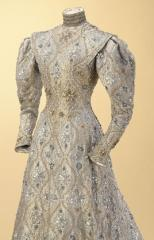 "view of the ""Byzantine"" dress, Worth"