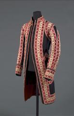 vue d'un habit de cérémonie à la livrée du roi de France