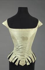 vue du corsage dit de Marie-Antoinette