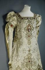 View of the stage dress worn by Sarah Bernhardt
