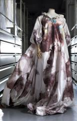 View of the 'Fragonard' evening dress, Vivienne Westwood