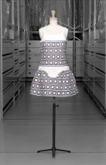 vue de la robe, Courrèges