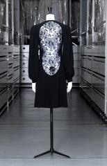 vue de la robe du soir courte, Yves Saint Laurent