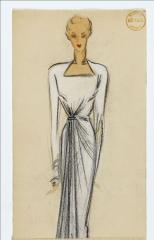 View of a drawing for the summer collection, Maison Alix