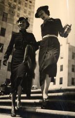 """""""Chanel ensembles, hats by Henri Bendel, New York"""", by Jean Moral © Jean Moral"""