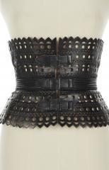 Hourglass corset belt, Alaïa © Azentis