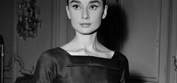 "Audrey Hepburn dressed by Hubert de Givenchy for ""Love in the Afternoon"" by Billy Wilder, 1956. © Alain Adler / Roger-Viollet"