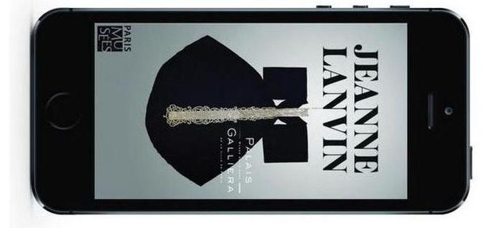 """Application de l'exposition """"Jeanne Lanvin"""" - Paris Musées"""
