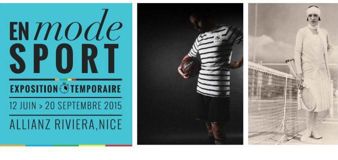 "Exposition ""En mode Sport"" - Photo : © Musée National du Sport, Nice"