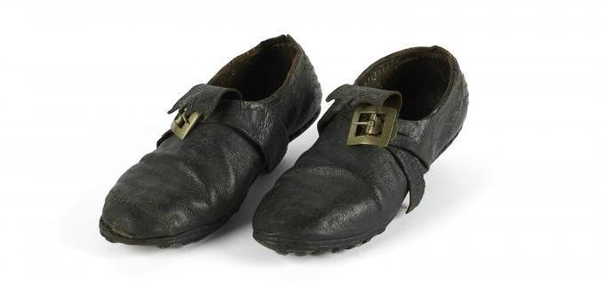 Paire de souliers, vers 1750, don de la Société de l'Histoire du Costume, GAL1944.11.3AB  © Palais Galliera /Roger-Viollet