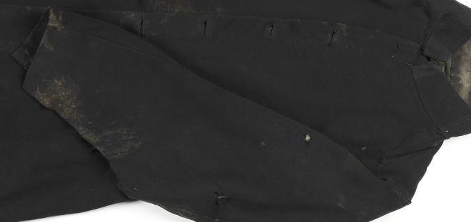 Habit du président Bonjean (veste), 1871; Collection du Palais Galliera. © Paris Musées, Palais Galliera