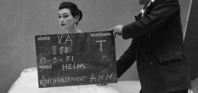 Henry Clarke, 1951. © Henry Clarke / Galliera / Roger-Viollet