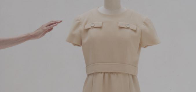 Givenchy, robe en deux parties portée par Audrey Hepburn, 1966 - Collection Palais Galliera - Photo : © Eric Poitevin/ADAGP 2016