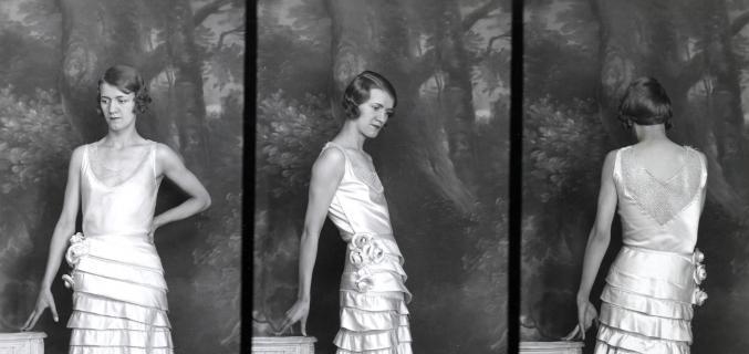 Dépôt de modèle Paquin, robe du soir, 13 août 1931. © Archives de Paris / D12U10 297