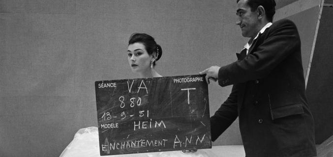 Henry Clarke, 1951 ©Henry Clarke / Galliera / Roger-Viollet