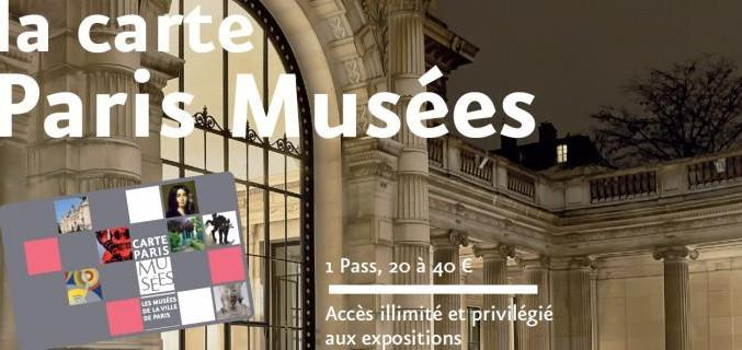 La Carte Paris Musées. Photo : © Paris Musées