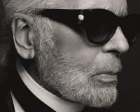 Self-portrait by Karl Lagerfeld © Karl Lagerfeld