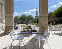 "Seasonal restaurant ""Les Petites Mains"" © Thibaut Van Kemmel / NMP"