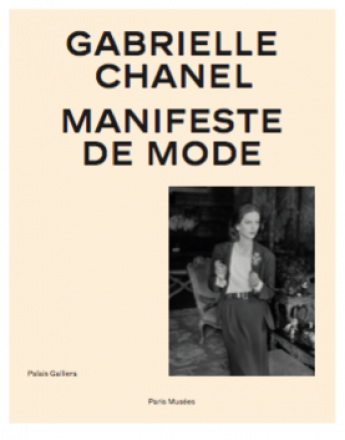"Cover of the exhibition catalogue ""Gabrielle Chanel, Fashion Manisfesto"""
