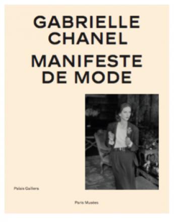 """Couverture du catalogue d'exposition """"Gabrielle Chanel, Manifeste de Mode"""""""