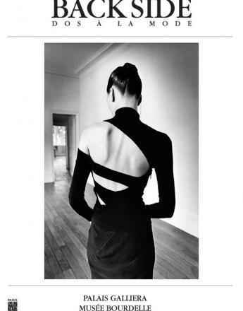 """Couverture du catalogue """"Back Side / Dos à la Mode"""" -  Editeur : © Paris Musées."""
