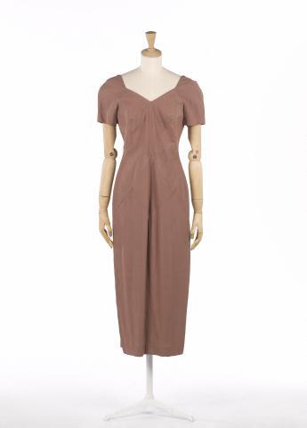 Dress, Sybilla © Françoise Cochennec / Galliera / Roger-Viollet