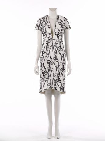 Evening dress, Balenciaga by Alexander Wang © Françoise Cochennec / Galliera / Roger-Viollet