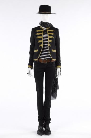 Ensemble for men, Saint Laurent by Hedi Slimane