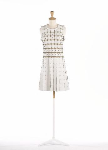 Short dress, Paco Rabanne