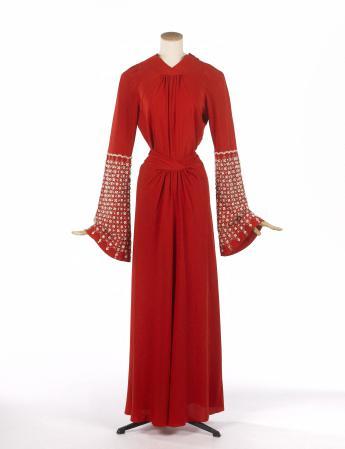 "Robe du soir ""Géranium"", Jeanne Lanvin"