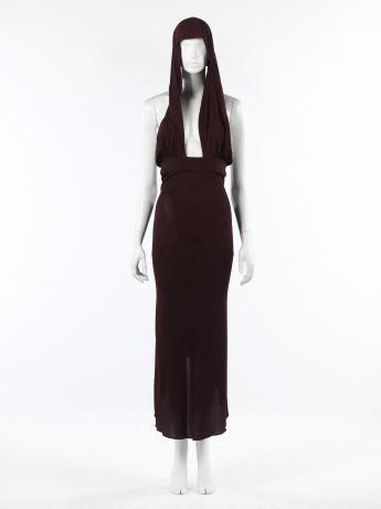 Evening gown, Alaïa © Françoise Cochennec / Galliera / Roger-Viollet