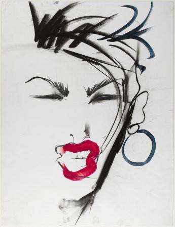 """Janice Dickinson, 1982"", Tony Viramontes © Tony Viramontes"