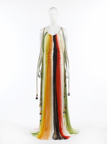 Robe longue, Chloé par Clare Weight Keller  © Françoise Cochennec / Galliera / Roger-Viollet