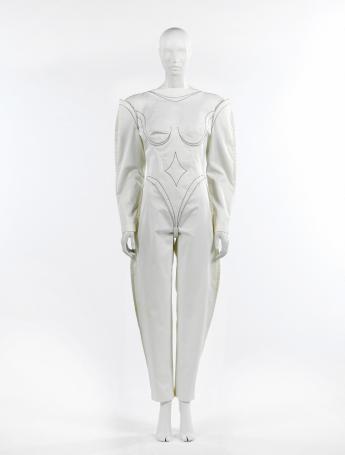 Combinaison anatomique, Thierry Mugler © Françoise Cochennec / Galliera / Roger-Viollet