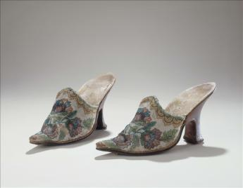 View of the Pair of mules