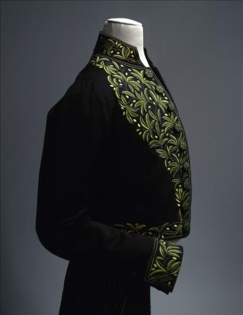 View of the Alfred de Musset's French Academy Uniform