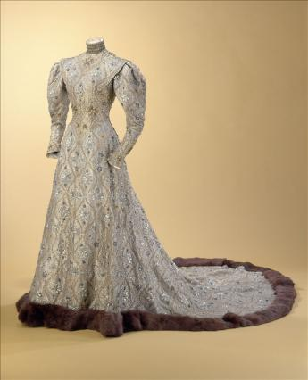 """vue de la robe """"byzantine"""""""