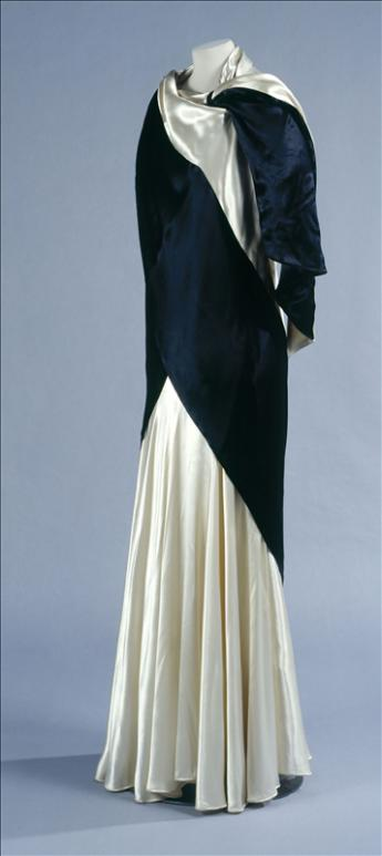 Evening gown and stole, Callot Soeurs