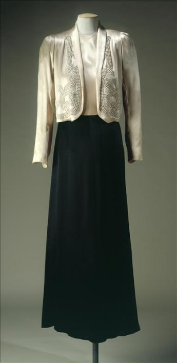 Evening suit, Jeanne Lanvin