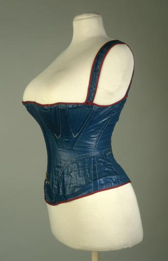 View of the sports corset